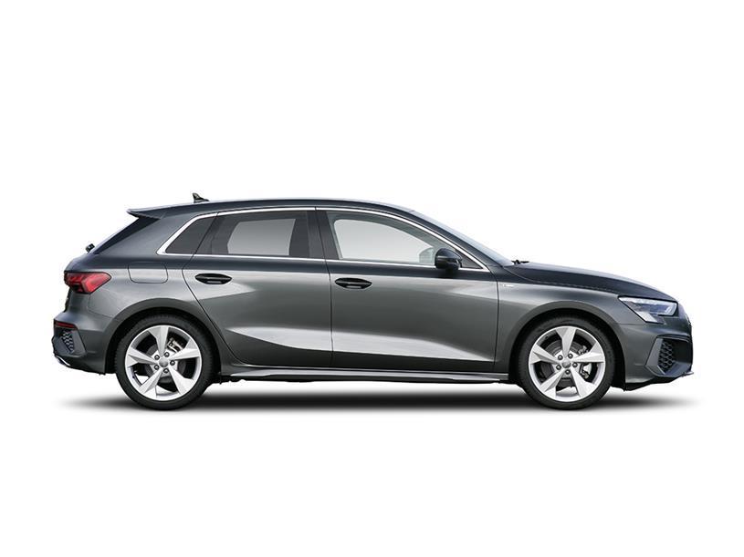 Audi A3 Sportback 40 TFSI Quattro S line 5dr S Tronic [C+S]