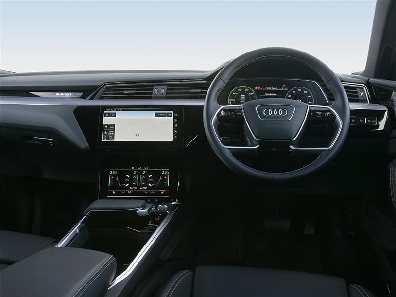 Audi E-tron Sportback 230kW 50 Quattro 71kWh Black Ed 5dr Auto [C+S]