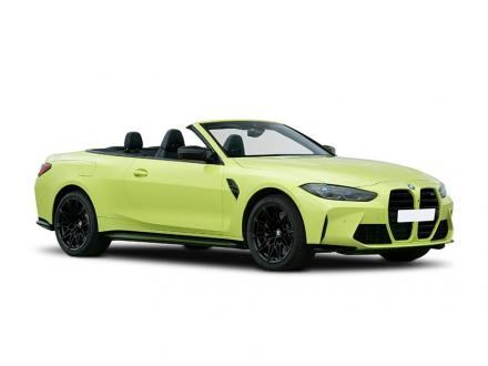 BMW M4 Convertible M4 xDrive Competition M 2dr Step Auto [M Carbon]