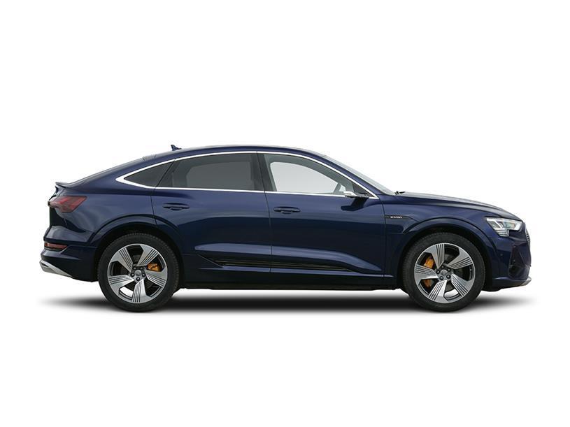 Audi E-tron Sportback 230kW 50 Quattro 71kWh Black Ed 5dr Auto [22kWCh]
