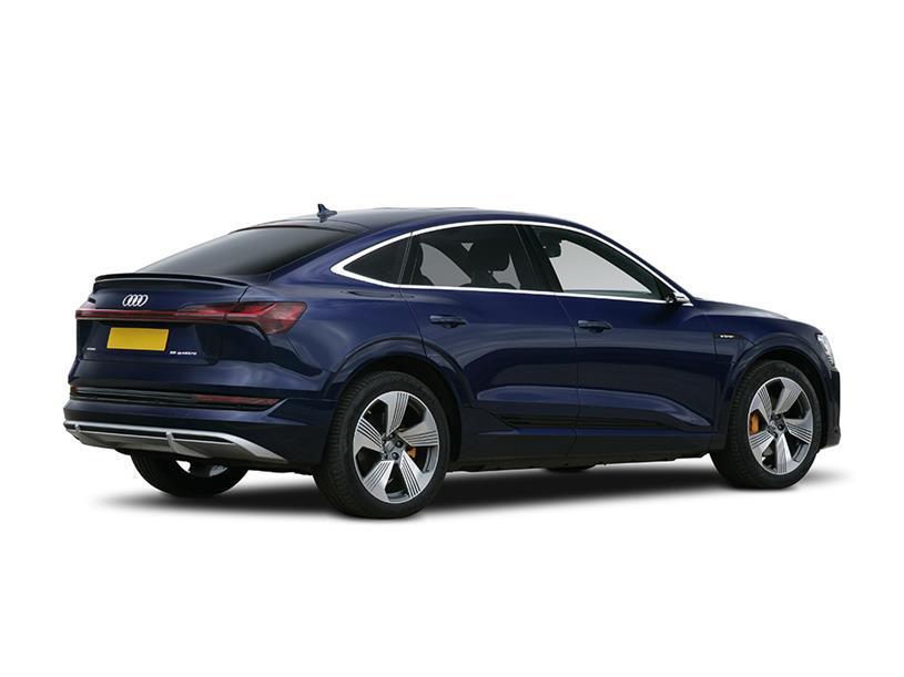 Audi E-tron Sportback 230kW 50 Qtro 71kWh Black Ed 5dr Auto C+S [22kWCh]